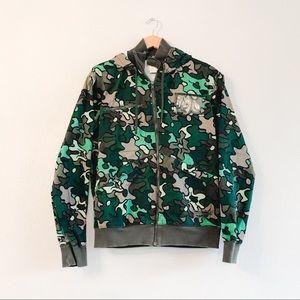 Rare Men's Adidas Safety Camo Jacket 100% Cotton